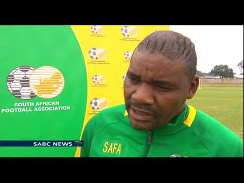 SA under-17 football team's preparations for Niger are on track