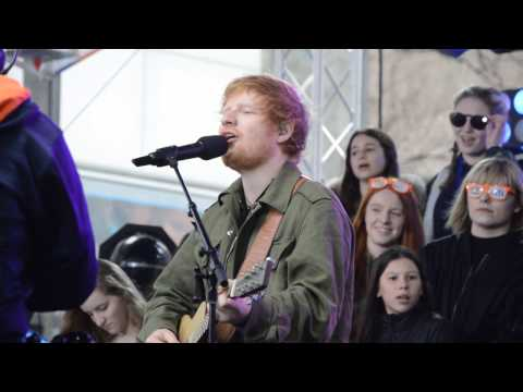 Ed Sheeran performing perfect on today show MP3