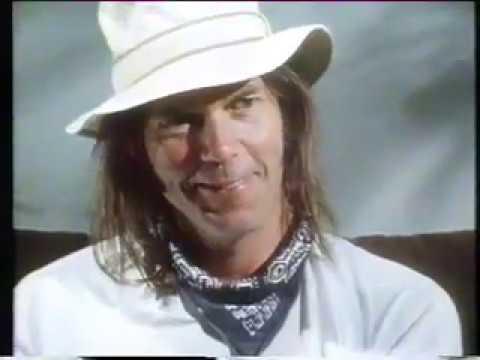 Neil Young - rare 1985 NZ interview!!