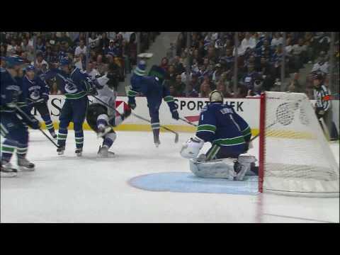Alex Edler Nails Drew Doughty - Canucks Vs Kings - R1G1 2010 Playoffs - 04.15.10 - HD