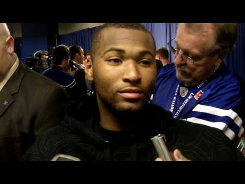 DeMarcus Cousins speaks to the media after UK's 85-75 win over Ole Miss Video