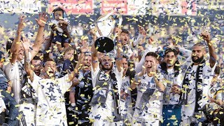 On this day in LA Galaxy History: The LA Galaxy defeated New England Revolution in MLS Cup 2014