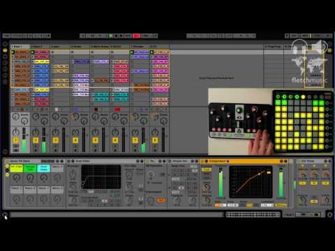 Launchpad & Nocturn - Instant Track Control Using MIDI Remote Scripts