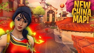 NEW CHINA MAP COMING SOON?! | FORTNITE BR GRINDING WINS!