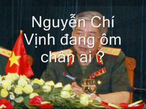Tướng Nguyễn Trọng Vĩnh vạch mặt Nguyễn Chí Vịnh