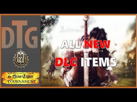 All New Items From The Amorous Adventures of the Bold Sir Hans Capon | Kingdom Come Deliverance