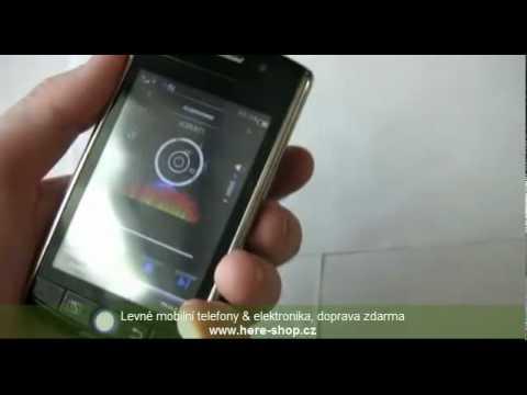 Telefon s WiFi & GPS. 3.5 palce. dual sim. trackball. čeština