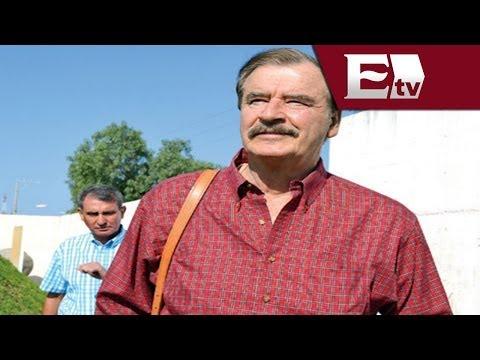 Chapo Guzmán aflojó el cuerpo: Vicente Fox / Chapo Guzmán 2014