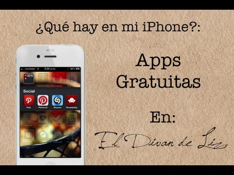 Que hay en mi iPhone? Apps Gratuitas - Sept 2012 (Parte  I)