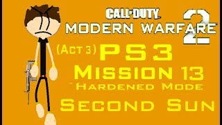 Call Of Duty MW2 (PS3) Mission 13 - Second Sun (Hardened Mode) (Act 3)