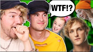 REACTING TO YOUTUBERS WE DON'T WATCH 2