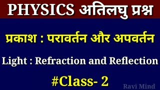 Science Physics Objective Question !! Class 10th !! Part- 2 !!