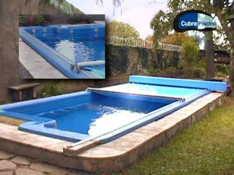 Cubre piscinas youtube for Piscinas moviles precios
