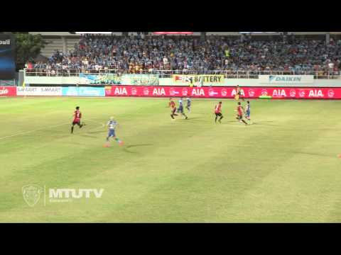 MTUTD.TV Highlight Chonburi 2-0 SCG Muangthong United - Thai Premire League - Round 32