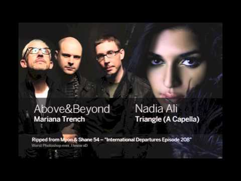 Above & Beyond vs Nadia Ali - Mariana Trench Triangle (A capella) HD