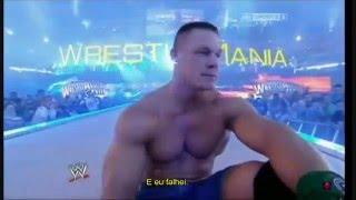 John Cena vs The Rock Wrestlemania 29 PROMO