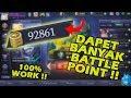 TRIK MENDAPATKAN BATTLE POINT DENGAN CEPAT !! Mobile Legend Indonesia #7 MP3