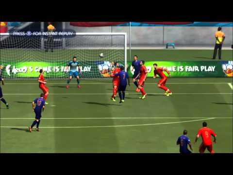 SPAIN - NETHERLANDS | FIFA World Cup 2014 (All Goals Highlights HD)