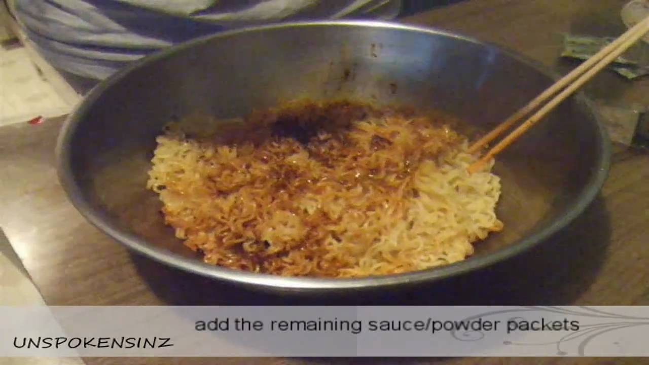 Correct Way To Cook Instant Noodle