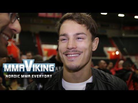 Simon Sköld Superior Challenge 11 Post Fight Interview