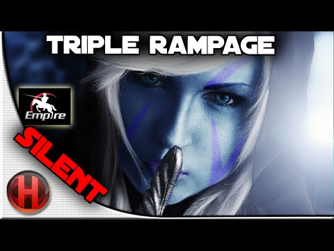 Dota 2 - Amazing Triple Rampage by Empire.Silent