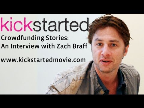 Zach Braff talks Kickstarter & responds to critics