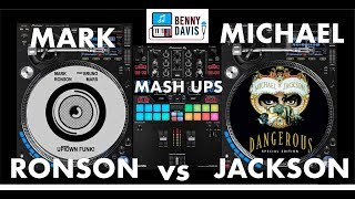 Blurred Lines Between Mark Ronson And Michael Jackson Uptown Funk Jam