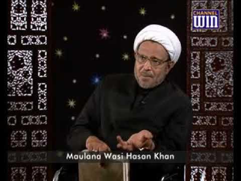 Dolat mand log ke kiye ek message  Maulana Wasi Hasan Khan