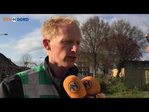 Brandweer: De eerste twee verdiepingen zijn er volledig afgeslagen - RTV Noord