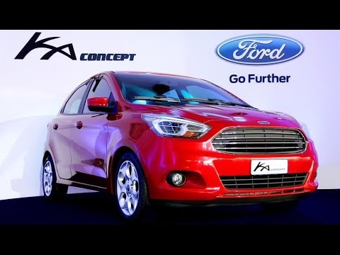 OFFICIAL PRESENTATION NEW FORD KA 2014 - DEVELOPED IN BRAZIL