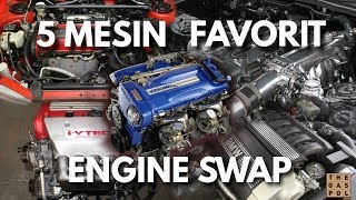Top 5 Engine Swap | The GA5FIVE