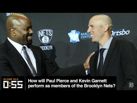 Globe 10.0: How will Kevin Garnett and Paul Pierce perform with the Nets?