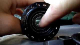 how to take apart a bmx hub