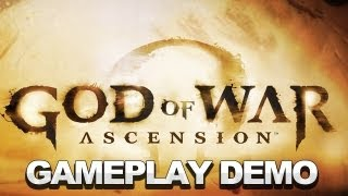 God of War_ Ascension Gameplay Demo - Sony E3 2012 Press Conference