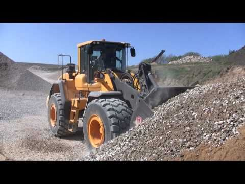 Testing The New Volvo L180G
