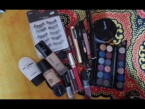 Распаковка посылки косметики с Just4makeup. Блогер Ксения Шапор