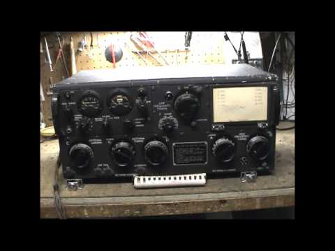 ART-13 WWII Collins Radio Transmitter with Autotune