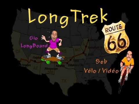 Longboarding Route 66 Longskaters Longtrek Route 66