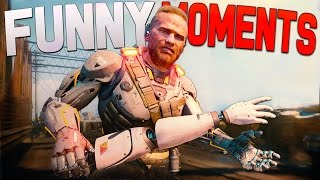 Black Ops 3 Funny Moments - 1000 DEGREE KNIFE, Pizza Gun, Sound Effects