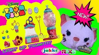NEW Tsweet Boutique Color Pop Tsum Tsum Playset Disney ROXO GLOW FRIEND TSUM Tubey Toys Review