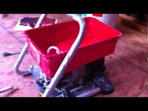 How to use Wagner Airless Paintcrew Power Paint Sprayer Tips Paint Crew