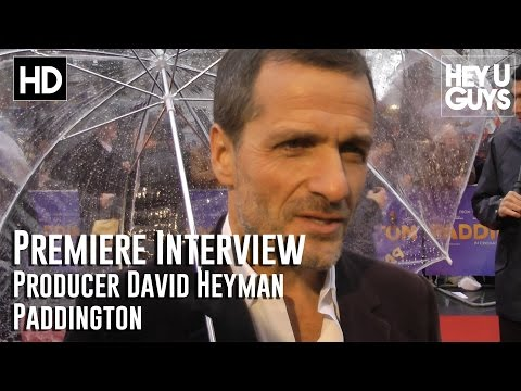 Producer David Heyman Interview - Paddington movie World Premiere