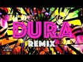 Daddy Yankee | Dura (REMIX) ft. Bad Bunny, Natti Natasha & Becky G (Lyric Video)