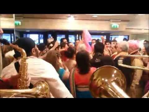 Best Wedding Entrance Ever ! UK's Finest Band Baja