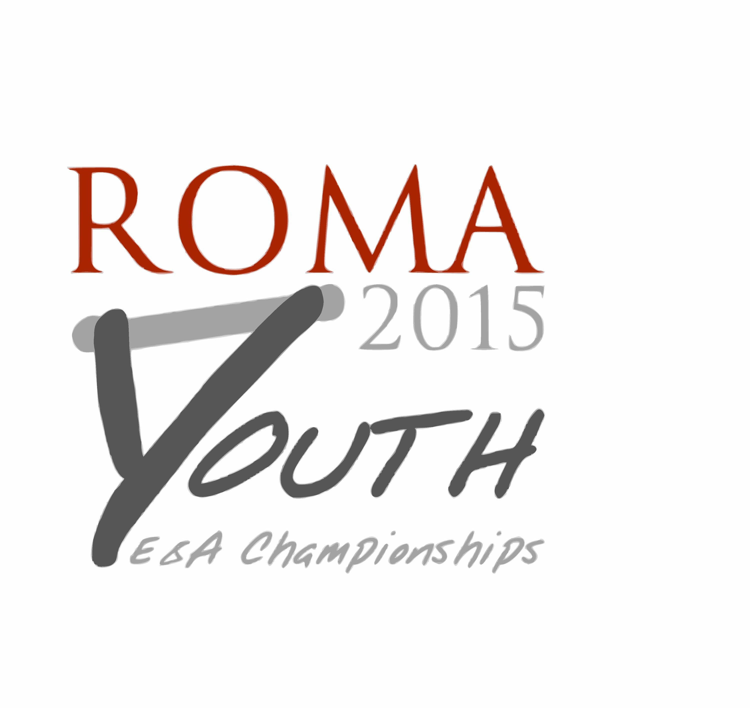 Roma 2015 Youth  E&A championships - 5th august - first day