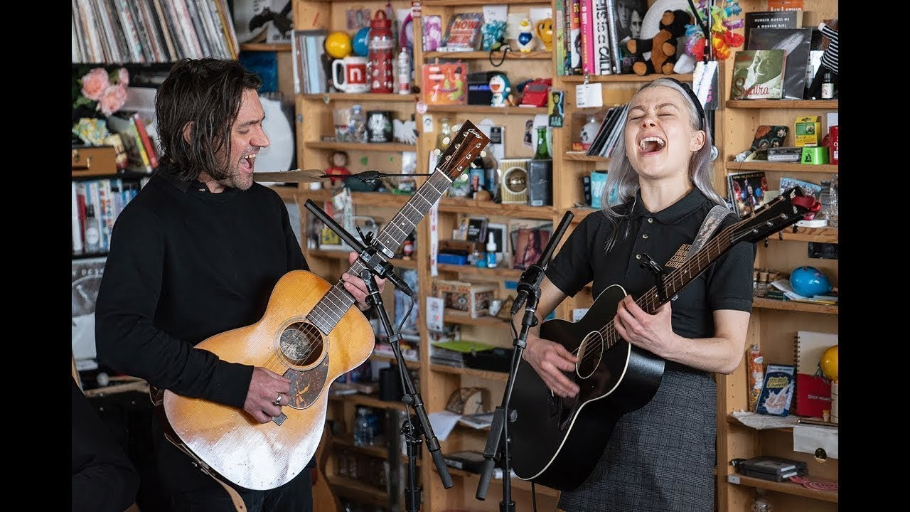 "Better Oblivion Community Center (Conor Oberst & Phoebe Bridgers) - NPR Music Tiny Desk Concertにて""Dylan Thomas""など3曲を披露 ライブセッション映像を公開 thm Music info Clip"