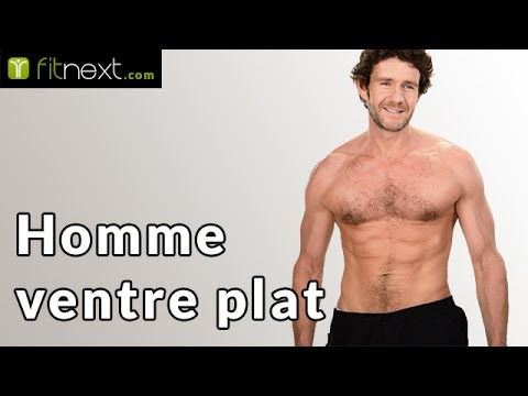 ventre plat comment avoir un ventre plat et muscl rapidement pour un homme youtube. Black Bedroom Furniture Sets. Home Design Ideas