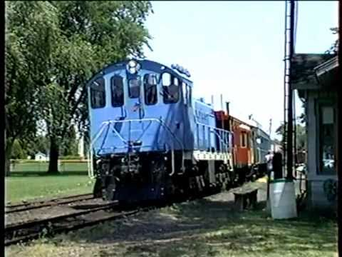 Toledo, Lake Erie & Western Tourist Train -