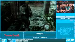 SGDQ 2015 Resident Evil 4 New Game, Professional Mode Speedrun