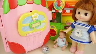 Baby Doll house carrier car and pet shop toys baby Doli play